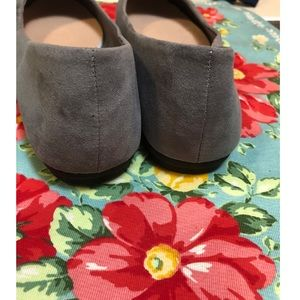 American Eagle Outfitters Shoes - American Eagle Grey Flats